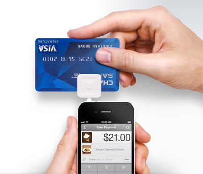 スマートフォンをクレジットカード決済端末にするサービス「Square」