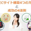 【徹底解説】ECサイト構築4つの方法と成功の4法則「Orange EC」